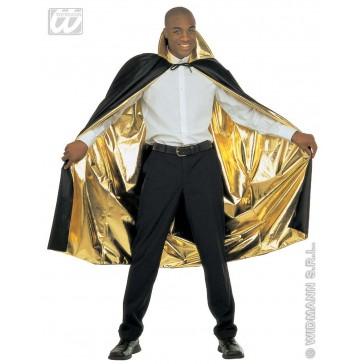 luxe goud/zwarte 2-zijdige cape