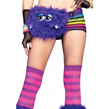 Furry Monster Fanny Pack