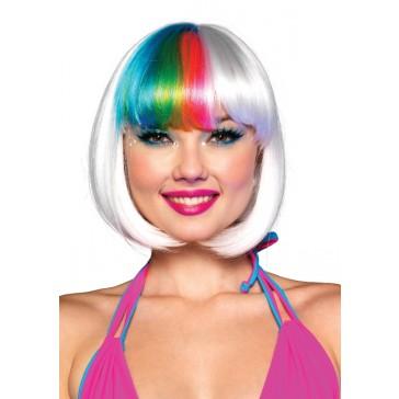 Riot Rainbow Bang Wig
