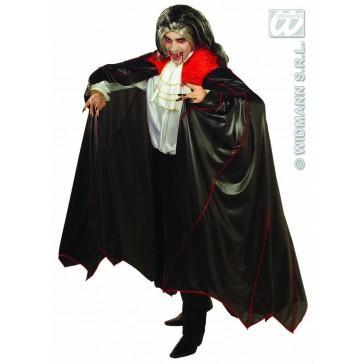 cape vampier met kraag, 150cm