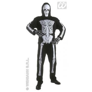 Skelet kind kostuum