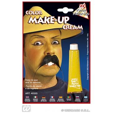 tube make-up, geel
