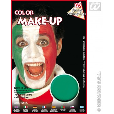 aqua make-up groen