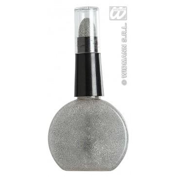 combi lippenstift en nagellak, zilver