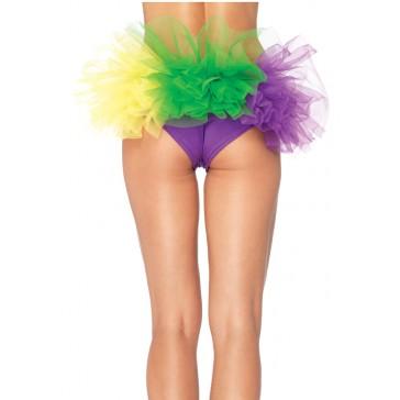 Mardi Gras Tulle Back Panty