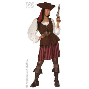Jack Sparrow kostuum dames