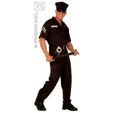 Agent politie kostuum