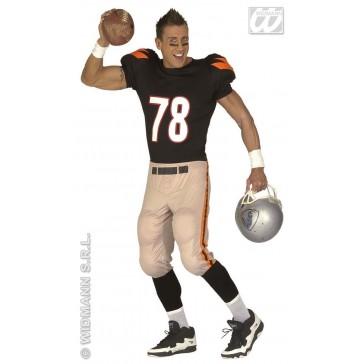 American footballer Quarterback Man