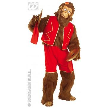 kostuum gekke aap in pluche