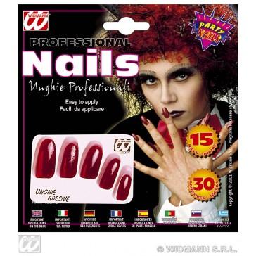 15 rode nagels