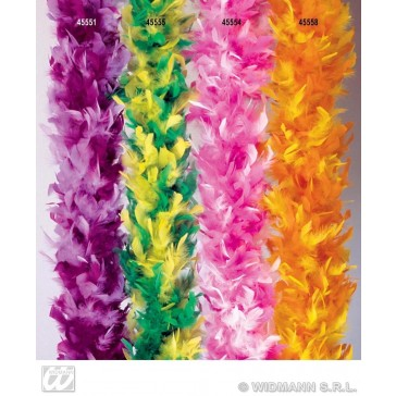 boa meerkleurig, paars/lichtpaars