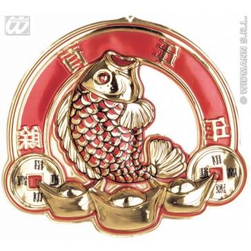 pvc decoratie 3d, chinese vis