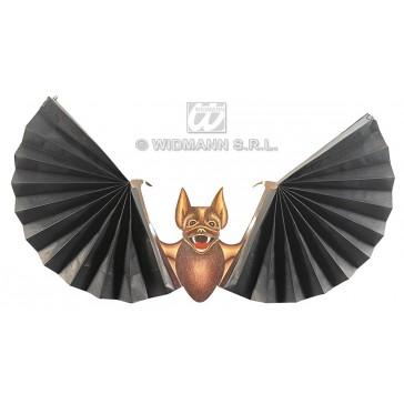 papierdecoratie vleermuis