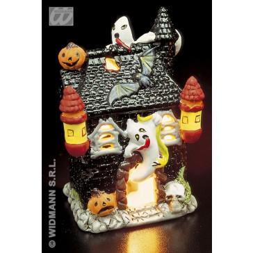 theelicht glitter decoratie halloween, lantaarn