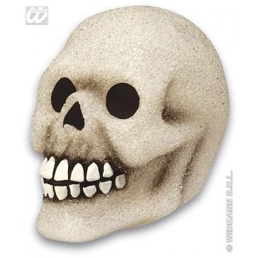 lichtgevende sprankelende schedel