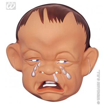 plastic masker huilende baby