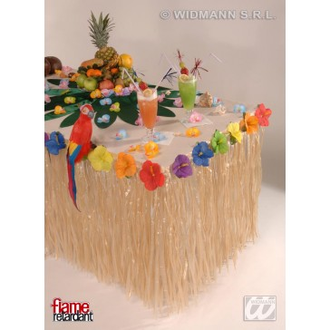 tropische tafelversiering