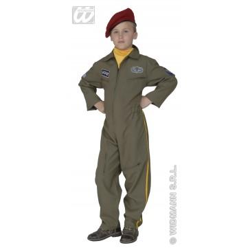 paratrouper, verlicht kind kostuum