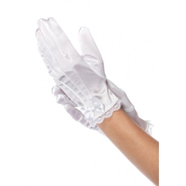 Kids Satin Gloves