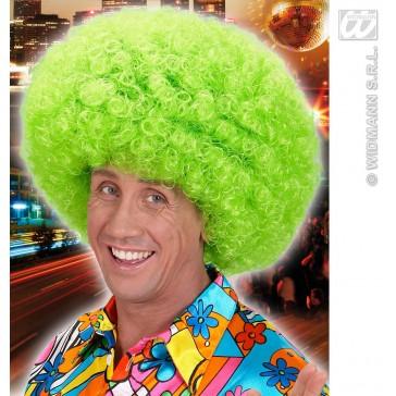 pruik, jimmy neon, groen hippie