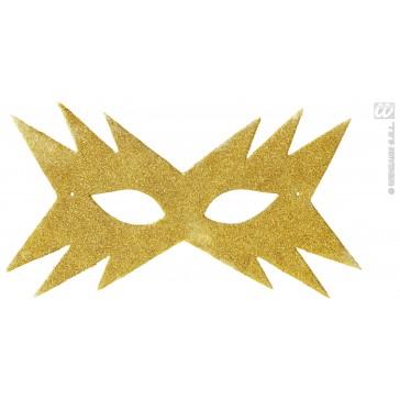 oogmasker, ster goud