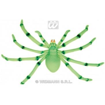 buigzame jumbo spinnen, 80cm lichtgevend in donker