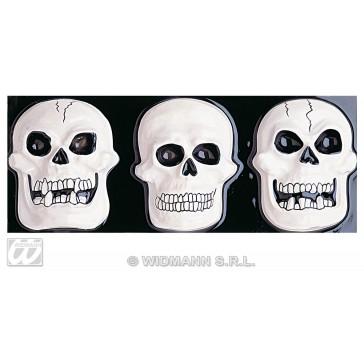 schedeldecoratie 3d, horizontaal 50x20cm