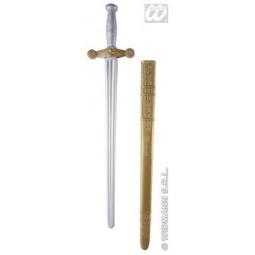 ridderzwaard met schede, 75cm