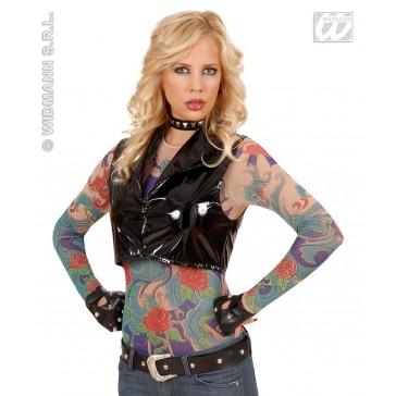 tattoo shirt engelenvleugel, vrouw