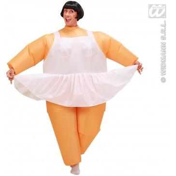 opblaasbaar kostuum ballerina