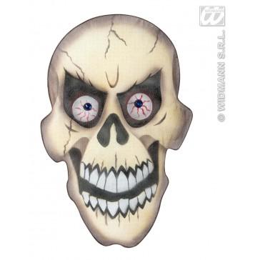 stoffen wanddecoratie schedel
