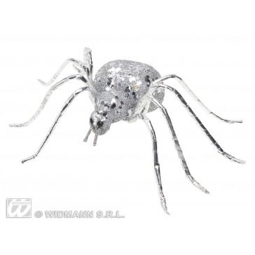glitter spin zilver 6,5cm