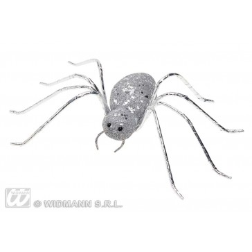 glitter spin zilver14,5cm