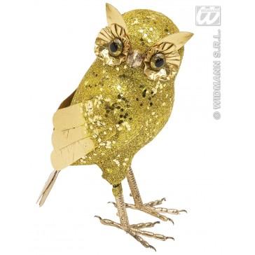 glitter uil goud 18,5cm