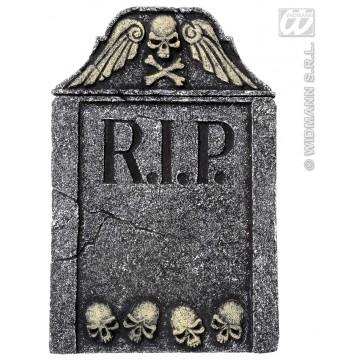 grafsteen schedel met vleugels 57cm