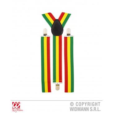 bretels jamaica / carnavalskleuren
