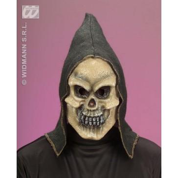 hessisch masker met kap, schedel
