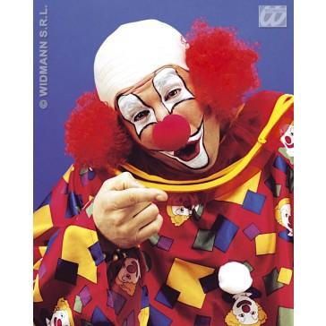 luxe kale kop clown met haar aan zijkant