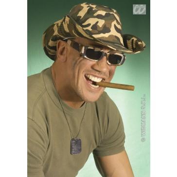 camouflage commando hoed
