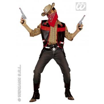 verkleedset, cowboyvest voor kind