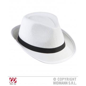 zwarte gangster hoed met zwarte band
