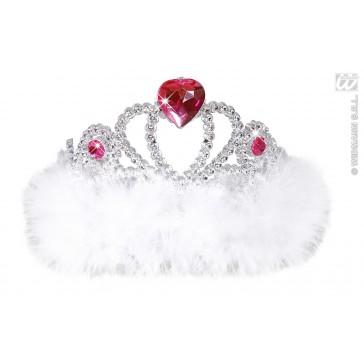 tiara wit met hartje