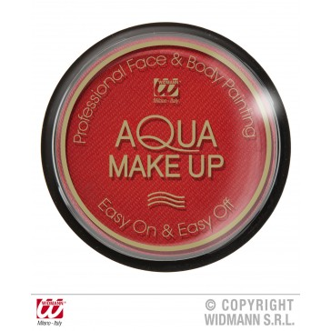 aqua make-up 15gr, rood