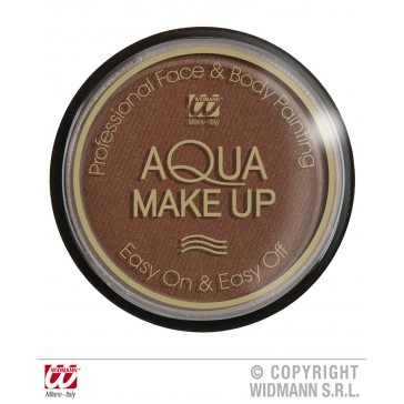 aqua make-up 30gr, bruin