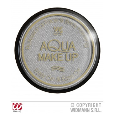 aqua make-up metalic 15gr, zilver