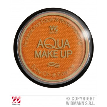 aqua make-up metalic 15gr, oranje
