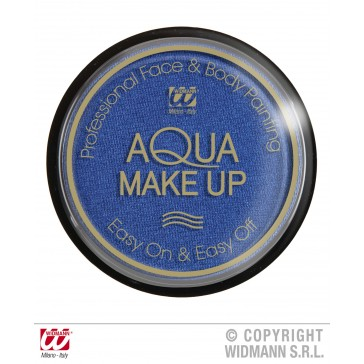 aqua make-up metalic 15gr, blauw