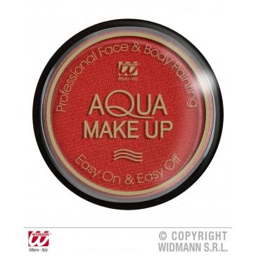 aqua make-up metalic 15gr, rood