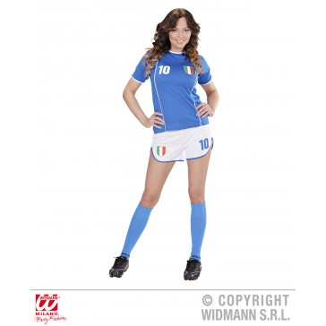 Voetbal meisje Italie