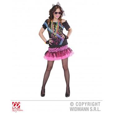 80's rock meisje
